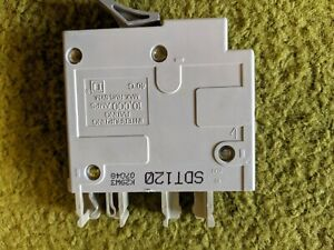 Working Used Square D Trilliant 20 Amp 20a Single Pole Circuit Breaker Sdt120