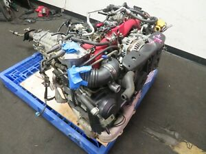 Jdm Subaru Wrx Sti Ej20 Engine 6 Speed Trans Ej207 2 0l Turbo Motor Ecu Ver 8