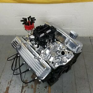 Sb Chevy Chrome Finned Engine Valve Covers Breathers Small Block 327 350 1958 79