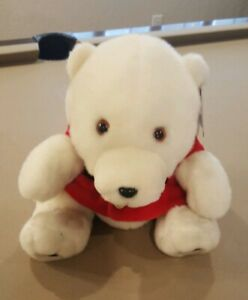 1993 Coca Cola Polar Bear with Red Jacket 13