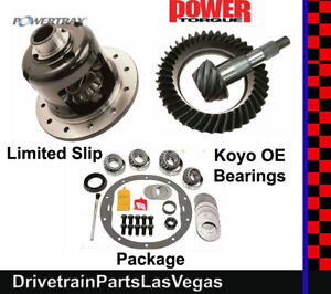 Posi Package Powertrax 8 5 Ring Pinion Gear Set Master Kit Gm Chevy 3 73 70 87