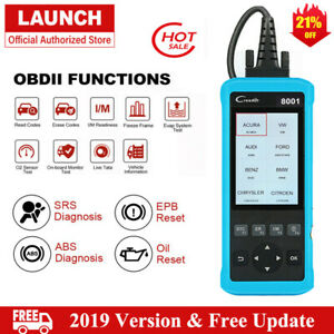 Abs Srs Epb Oil Reset Launch X431 Car Obd2 Diagnostic Auto Scan Tool Code Reader