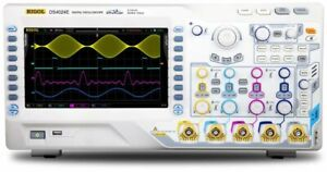 Rigol Ds4024e Digital Oscilloscope 200 Mhz 2 Gsa s 14 Mpts 4 analog channel