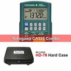 Yokogawa Ca320 hd Thermocouple Process Calibrator With Hard Case