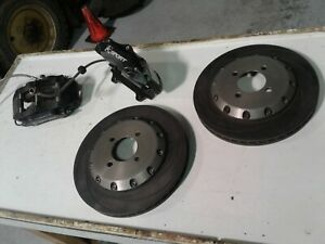 Nissan Sentra B13 Big Brake Kit Se R Rear Brakes By Ksport 12inch Rotors Jgy