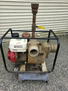 Honda Gx340 4 Trash Pump 422 Gpm Water Pump 11 Hp Engine Local Pick Up Only
