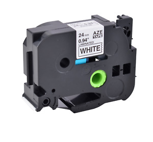 Compatible With Brother Tz251 Tze251 Black On White Label Tape Pt 1400 Pt 1500