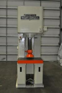 50 Ton Denison C frame Hydraulic Press 15 Stroke 24 1 4 Daylight 12 Throat 6