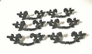 Vintage Keeler French Provincial Brass Drawer Pull Handle Hardware 5 Available