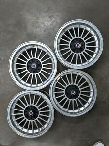 15 Alpina Wheels Staggered Set Of Four 2 6jx15h2et12 2 7jx15h2et12 Real