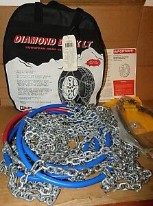 Quality Light Truck Diamond Pattern Tire Snow Chains Stock 2519 Never Used