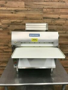 2012 Somerset Cdr 2000 Dough Roller Stainless Steel Very Nice Condition