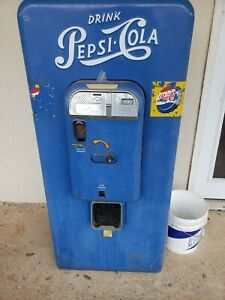 1950 s Vintage Pepsi Vendo Vmc 88 Soda Drink Vending Machine Coke Antique