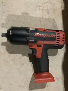 Snap On Ct8850 18 Volt 1 2 Drive Lithium Ion Cordless Impact Wrench Gun Red