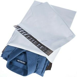 Poly Mailers 14 5x19 100 Pcs Large Shipping Bags For Clothing Mailing B