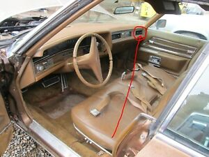 Dash Vent Outlet At Rh End Of Dash 1971 1972 1973 Cadillac Air Vent