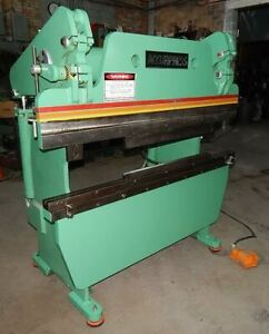 50 Ton X 6 Accupress Hydraulic Press Brake 6 Stroke 14 Open Height 8 Throat