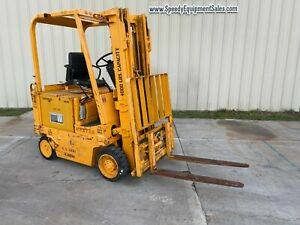 Hyster 4k E40xl Electric Forklift runs Great brand New Battery 7k Value