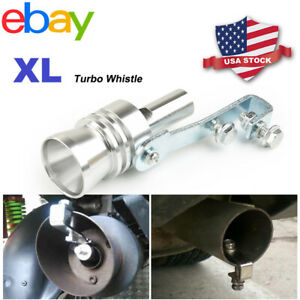 Universal Car Turbo Sound Whistle Muffler Exhaust Pipe Blow Off Valve Simulator
