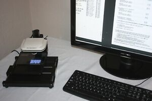Micro image Capture 7 Digital Microfiche Reader Scanner Printer Usb2 10mp Res