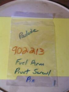 Paslode Nailer Fuel Arm Pivot Screw pin Oem Part 902213 New Oem Service Part
