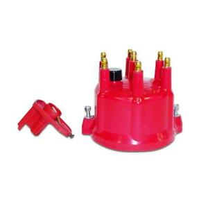Taylor Distributor Cap And Rotor Kit 918230 Hei Male Red For Ford 300 6cyl