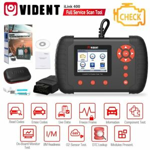 Vident Ilink400 Full System Single Make Scan Tool Support Abs Srs Epb Oil Reset