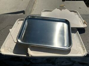 4 Vollrath Stainless Steel Instrument drying Tray 13 11 16 X 9 13 16 X 3 4