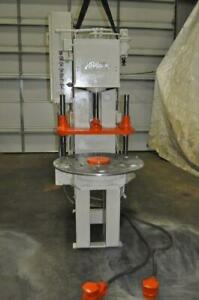 6 Ton Denison Hydraulic Press With 6 Station Rotary Table 2 Ram Cylinder 2020 P