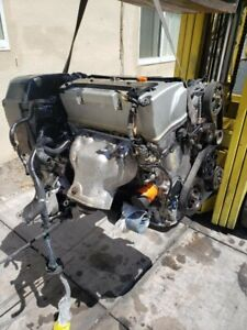 02 06 Honda Accord Crv 2 4l I vtec K24a Engine Transmission