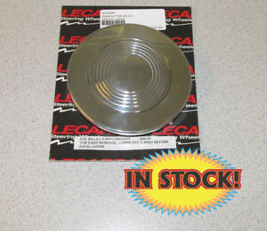 Lecarra 3720 Large Groovy Steering Wheel Horn Button Polished
