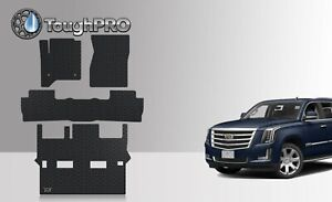 Toughpro Floor Mats 3rd Row Black For Cadillac Escalade Bucket 2015 2020