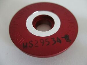 Ms29534 2 Booster Pump Internal Outlet Cap Red