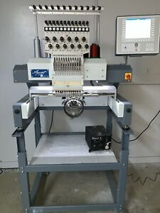Used Zsk Commercial Embroidery Machine