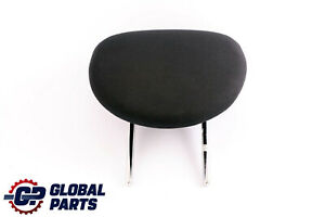 Bmw Mini Cooper One R50 Rear Seat Fabric Cloth Headrest Panther Black