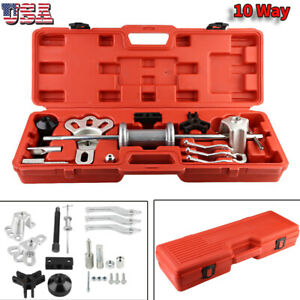 10 Way Slide Hammer Axle Bearing Dent Hub 2 3 Internal External Puller Set Us