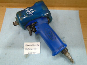 C804 Cornwell Cat4112 Blue Power Stubby 1 2 Air Impact Wrench W Pr4112c Cover