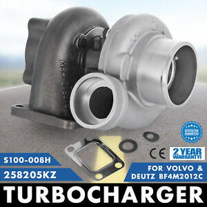 Ty Turbo Turbocharger Fits Deutz Volvo Diesel Replaces S100 008h 258205kz Fast