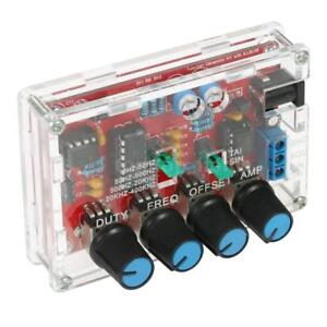 Professional Icl8038 Function Signal Generator Sine Triangle Wave Diy Kit New