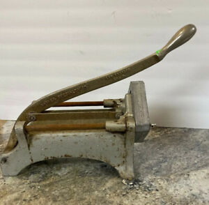Vtg Shaver Specialty Company Keen Kut Shoe Stringer French Fry Potato Cutter