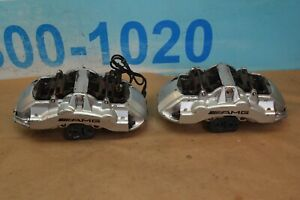 03 06 Mercedes Cl55 E55 S55 Cls55 Amg Front Brembo Brake Caliper Calipers Pair