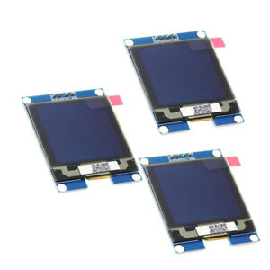3pcs 1 5 I2c Oled Module Ssd1327 Driver Chip 128x128 Communication For Uno