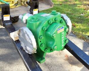 Mcgraw Edison 3 Grm I Worthington Iron Rotary Gear Pump Rebuilt