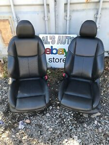 14 16 Infinity Q50s Sport Front Seats Black Leather Power Heated Oem