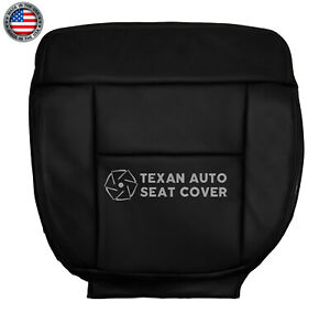 2004 2008 Ford F 150 Lariat Driver Bottom Synthetic Leather Seat Cover Black