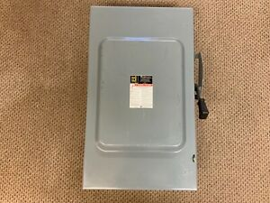 Square D D324n General Duty 200a 240v Fusible Safety Switch