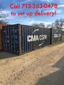 Used 20 Shipping Containers For Sale In Texas