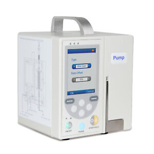 Portable Sp750 Accurate Infusion Pump Standard Iv Fluid Medical Control alarm