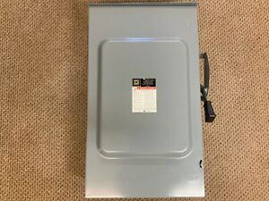 Square D Du324rb General Duty 200a 240v Nonfusible Safety Switch