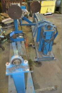 Automation Rotary Welding Positioner 36 Od Swing 250 Lbs Estimated Weight Capa